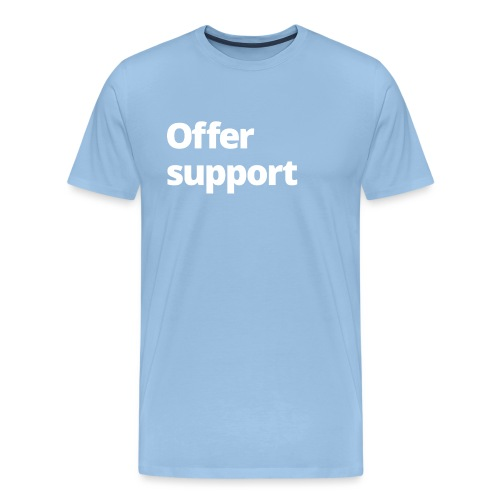 0 NETZ Offer support - Men's Premium T-Shirt