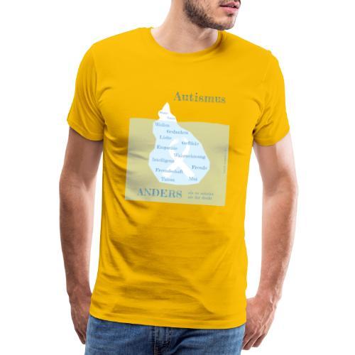 Autismus - anders als man denkt - Männer Premium T-Shirt