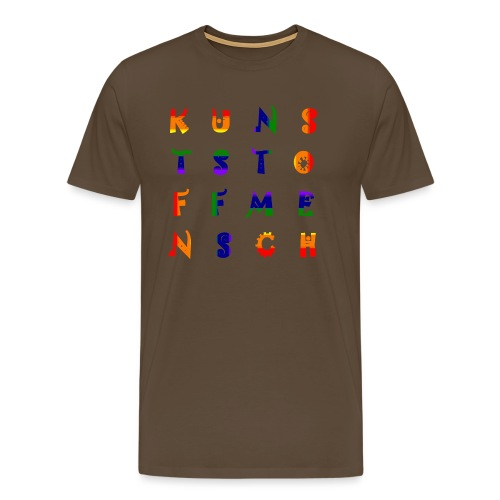 KunstStoffMensch #6 - Rainbow Edition - Männer Premium T-Shirt