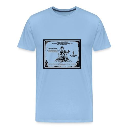 charlie chaplin, annniversaire disparition - T-shirt Premium Homme