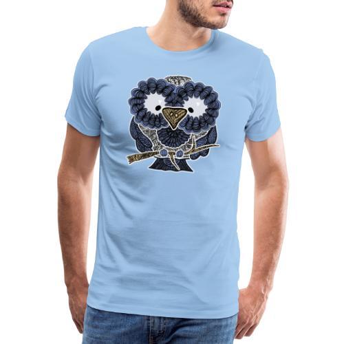 An owl - Men's Premium T-Shirt