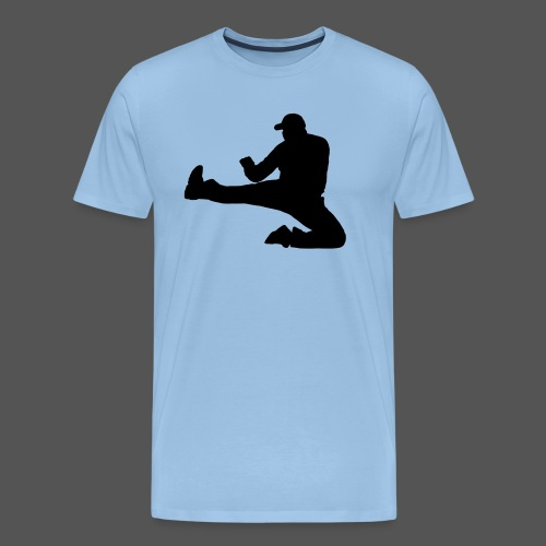 Flykick by canography - Männer Premium T-Shirt