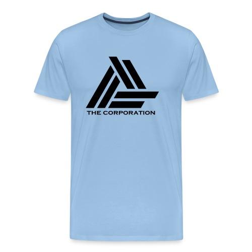 zwart metnaam keertwee png - Men's Premium T-Shirt