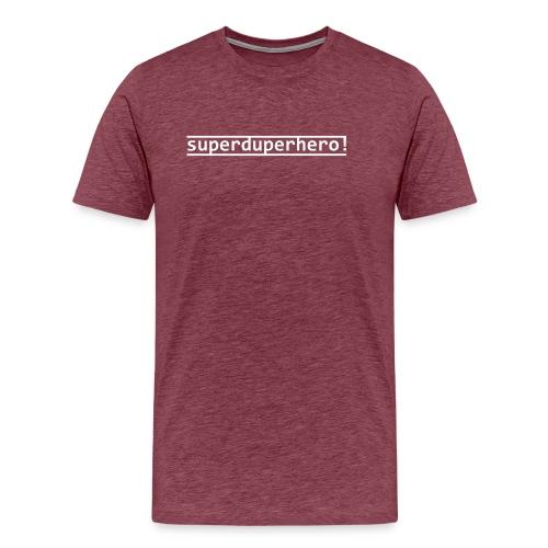 Superduperhero - Men's Premium T-Shirt