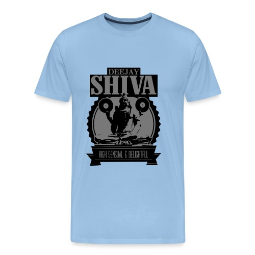 deejay-shiva TWO COLOUR - Männer Premium T-Shirt