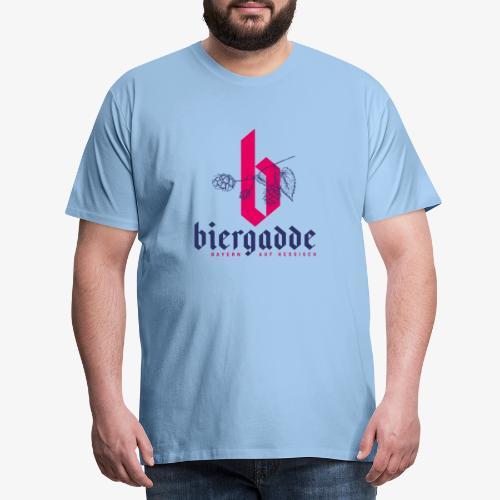 Biergadde - Männer Premium T-Shirt