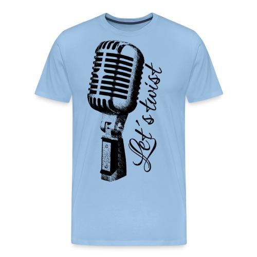 Mikrofon - Männer Premium T-Shirt