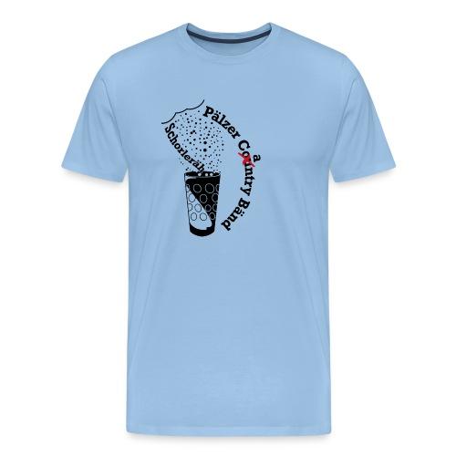 Schorleräh schwarz - Männer Premium T-Shirt
