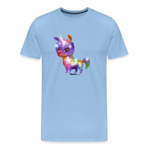 Llamacorn - Premium T-skjorte for menn