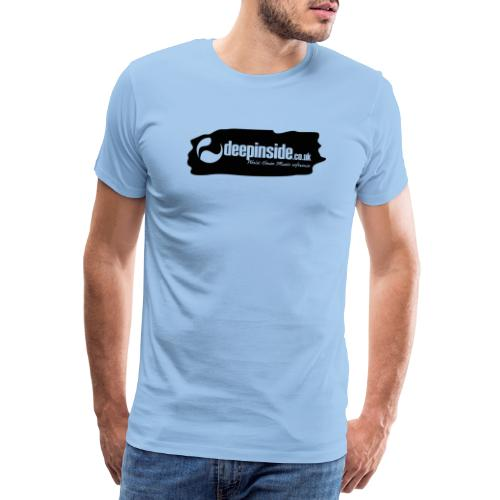 deepinside world reference marker logo black - Men's Premium T-Shirt