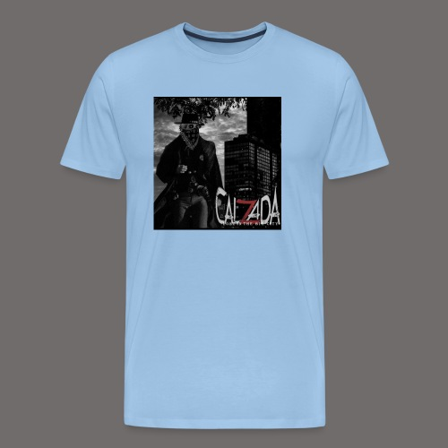 Calzada logo - Premium T-skjorte for menn