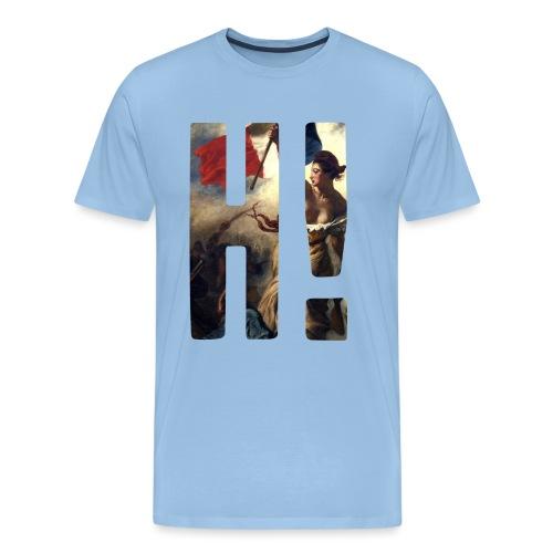 Apparel L'Histoire H! Logo Tee - Delacroix - Men's Premium T-Shirt