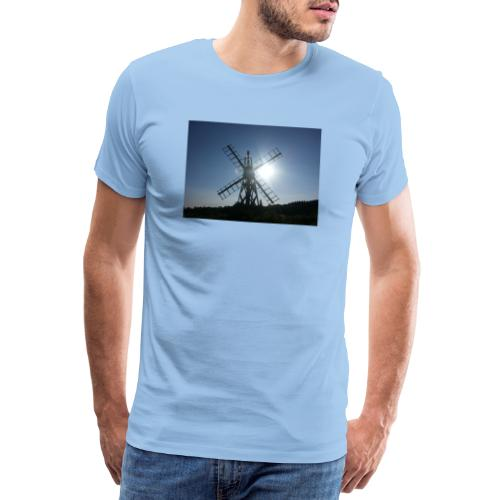Norfolk Broads Windpump - Men's Premium T-Shirt