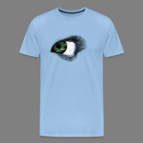 Auge 1 - Männer Premium T-Shirt