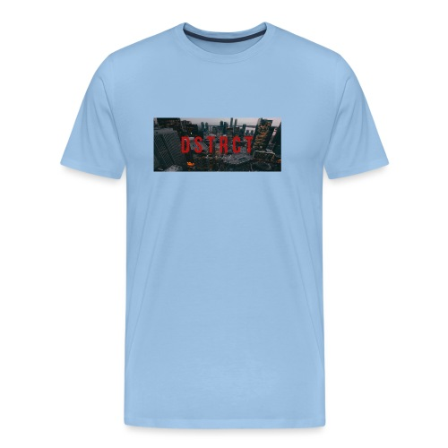 dstrct3 - Men's Premium T-Shirt