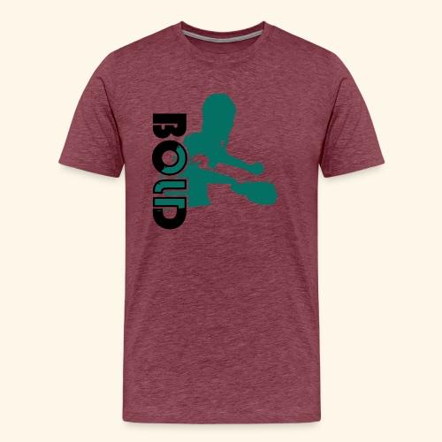 BOLD, table tennis championship ideal gift - Männer Premium T-Shirt