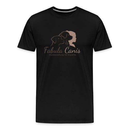 Fabula Canis - Männer Premium T-Shirt