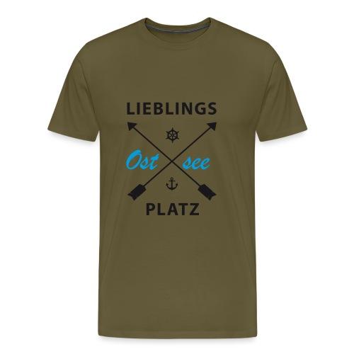 Lieblingsplatz Ostsee - Männer Premium T-Shirt