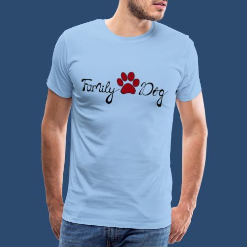 Family Dog Black created by Jill - Männer Premium T-Shirt