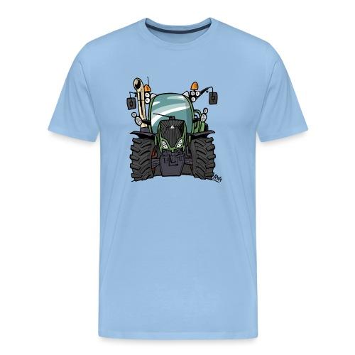 0195 F - Mannen Premium T-shirt