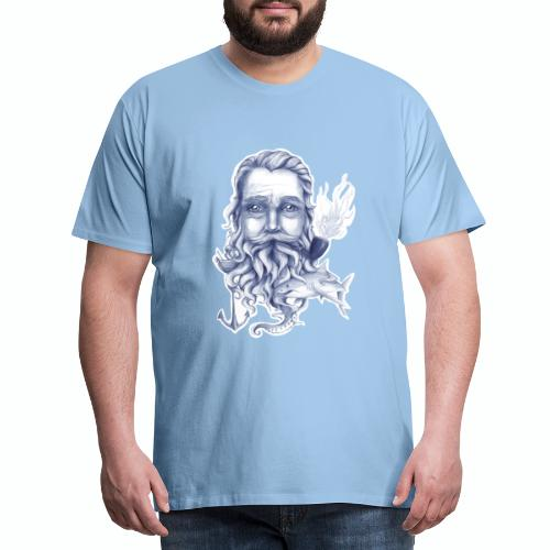 Wise Bearded Sailor - Men's Premium T-Shirt