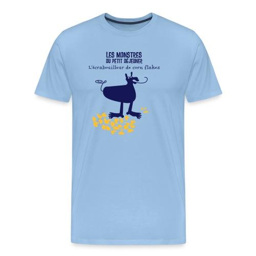 Écrabouilleur de corn flakes - T-shirt Premium Homme