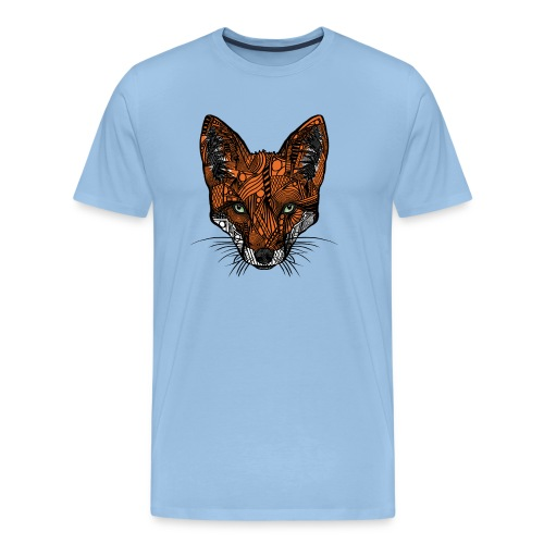 Fox - Premium T-skjorte for menn