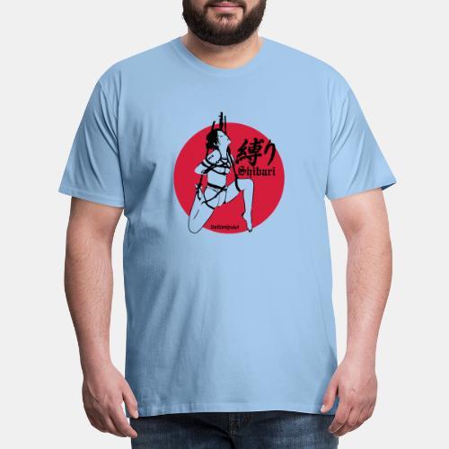 Shibari Tzuri No1 2color flex - Männer Premium T-Shirt