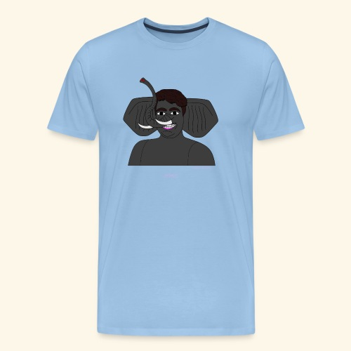 Andrea elefante - Maglietta Premium da uomo