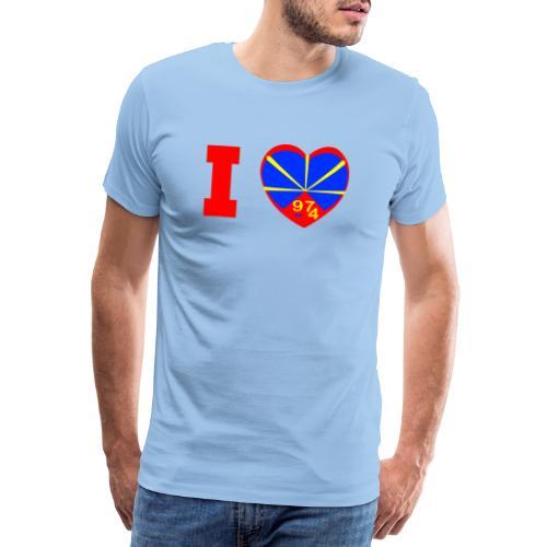 I love 974 - Lo Mahaveli - T-shirt Premium Homme