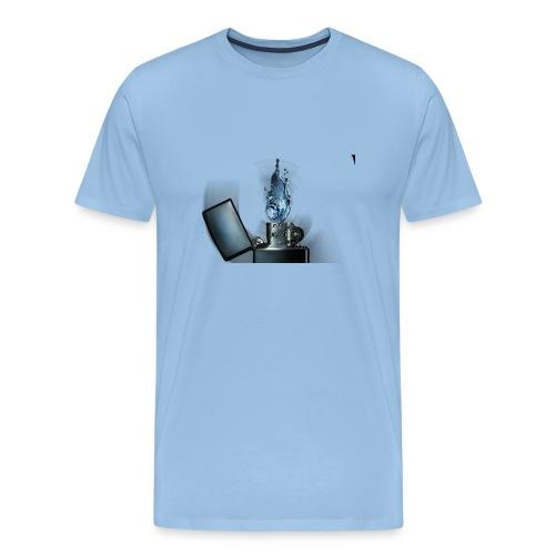 3D render no blur png - T-shirt Premium Homme