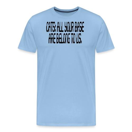 allyourbase - Men's Premium T-Shirt