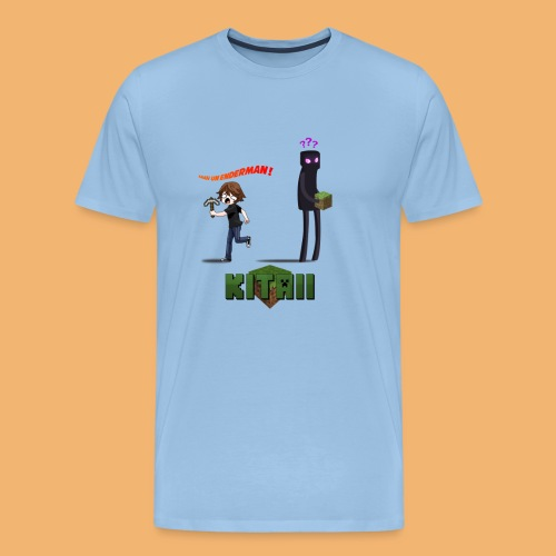 enderman png - T-shirt Premium Homme