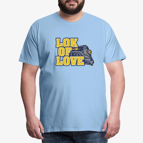 LOK OF LOVE 2 - Männer Premium T-Shirt