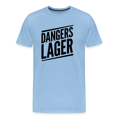 Dangers Lager - Männer Premium T-Shirt