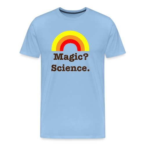 magic? science - Men's Premium T-Shirt