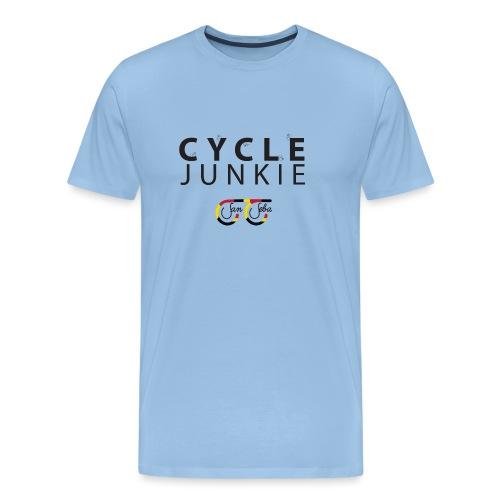 Cycle Junkie San Seba - Mannen Premium T-shirt