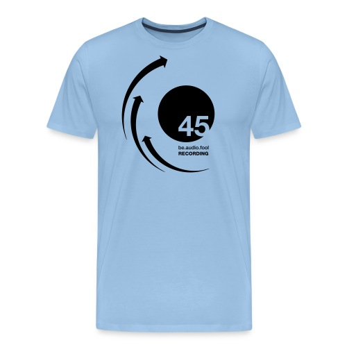 45 be.audio.fool Recording - Männer Premium T-Shirt