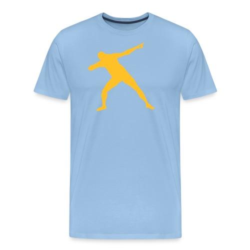 Bolt Vinnestilling Lyn 10 - Men's Premium T-Shirt