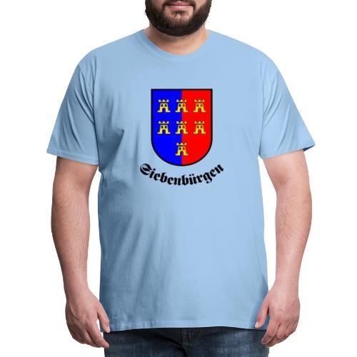 Wappen der Siebenbürger Sachsen Siebenbürgen - Männer Premium T-Shirt