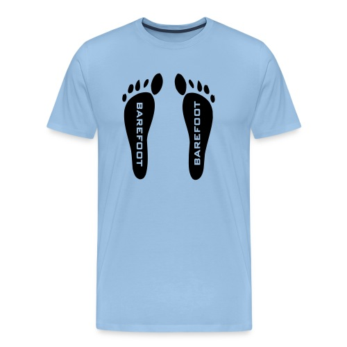 barefoot - Männer Premium T-Shirt