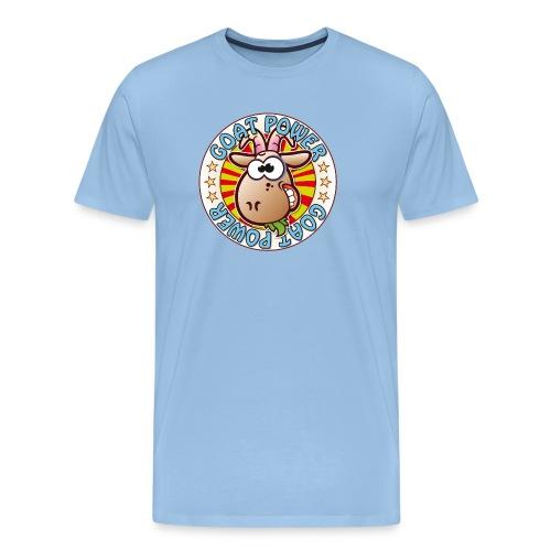 Goat Power - Men's Premium T-Shirt