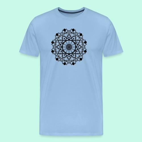 Mandalas 2 - Camiseta premium hombre