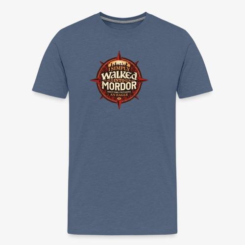 I just went into Mordor - Men's Premium T-Shirt