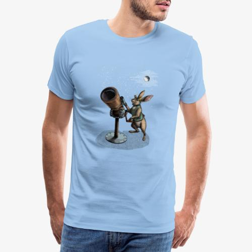 Stargazing Hare - Men's Premium T-Shirt