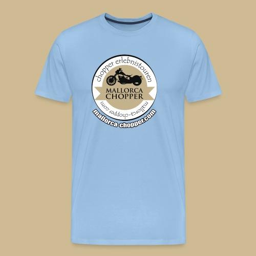 mallorca-chopper-logo - Männer Premium T-Shirt