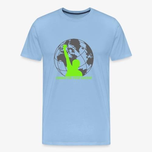 LOGO GLOBEVERT - T-shirt Premium Homme