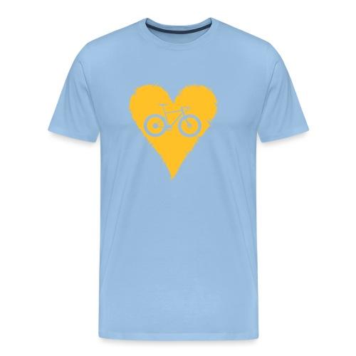 I love bicycles - Männer Premium T-Shirt