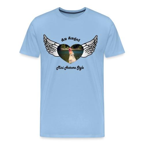 An Angel bunt - Männer Premium T-Shirt