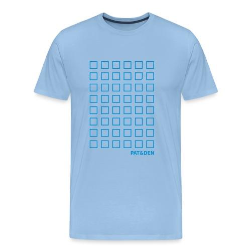 Squares 0PD09 - Männer Premium T-Shirt